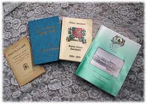 Livres édités pour le centenaire, le 150e et le175e anniversaire de la municipalité